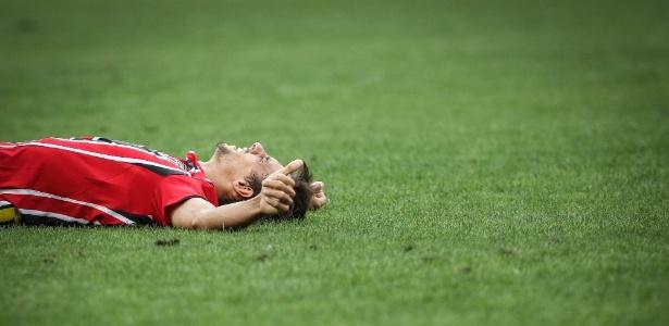 Rodrigo Caio foi poupado na derrota contra a Ponte e volta ao time na terça