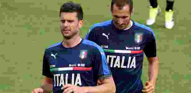 Chiellini é titular da seleção italiana - Claudio Villa/Getty Images