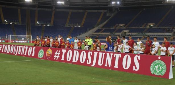 Chapecoense e Roma fazem amistoso na Itália