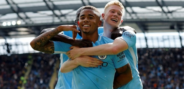 Gabriel Jesus é xodó da torcida do Manchester City