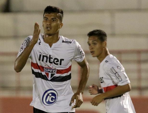 Walce marcou duas vezes na vitória do São Paulo sobre o Sergipe