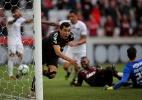 """Atlético-PR vence Flu com """"gol de videogame"""" e se afasta da degola - HEULER ANDREY/DIA ESPORTIVO/ESTADÃO CONTEÚDO"""