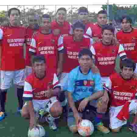 Peruanos durante torneio de pelada no Rio de Janeiro - Divulgação - Divulgação