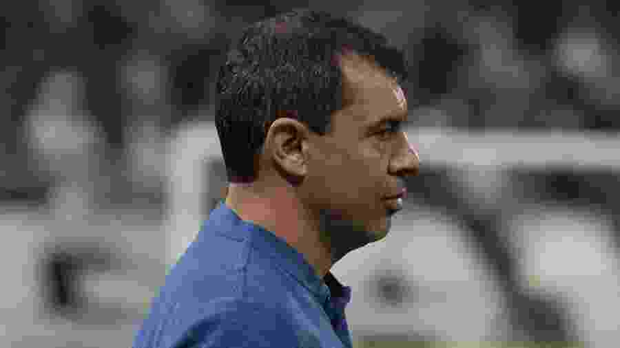 Técnico Fábio Carille comanda o Corinthians durante partida contra o Flamengo no primeiro turno - Daniel Augusto Jr/Ag. Corinthians