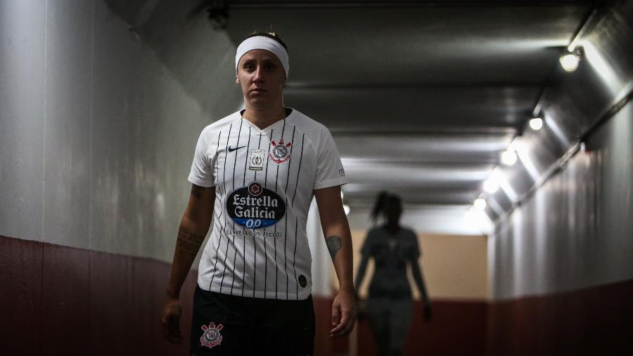 Patrocinador também se estendia ao time feminino do Corinthians - Bruno Teixeira/Corinthians