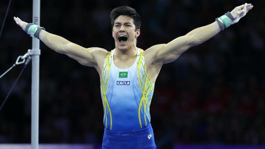 Ginasta, que está no Japão para a disputa dos Jogos Olímpicos de Tóquio, protagonizou caso de racismo em 2015 - Ricardo Bufolin/CBG