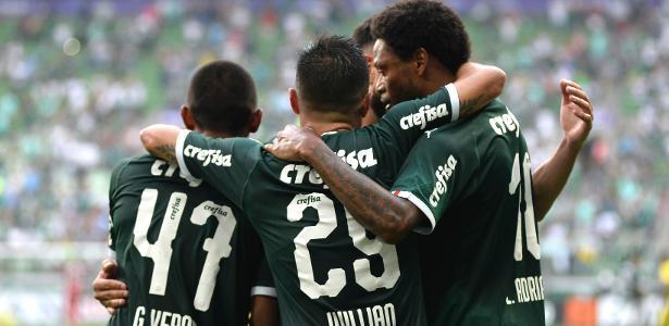 Palmeiras vence de virada, e Fla conhece adversário de final; veja os gols