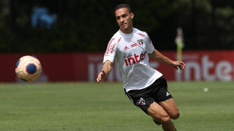 Antony, atacante do São Paulo - Rubens Chiri/saopaulofc.net