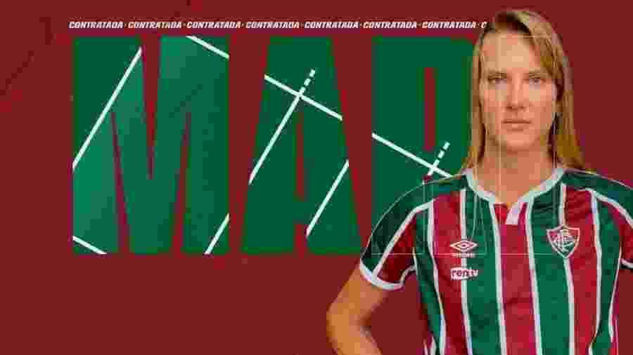 Mari é anunciada pelo Fluminense - Divulgação