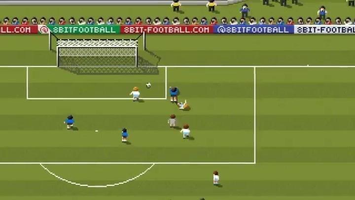 Animação de gol de Maradona foi publicada nas redes sociais