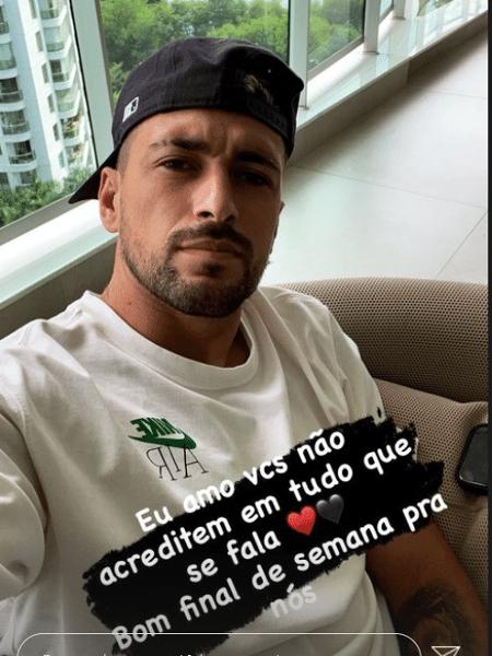 """Arrascaeta mandou recado para torcida do Flamengo: """"Amo vocês"""" - Reprodução"""