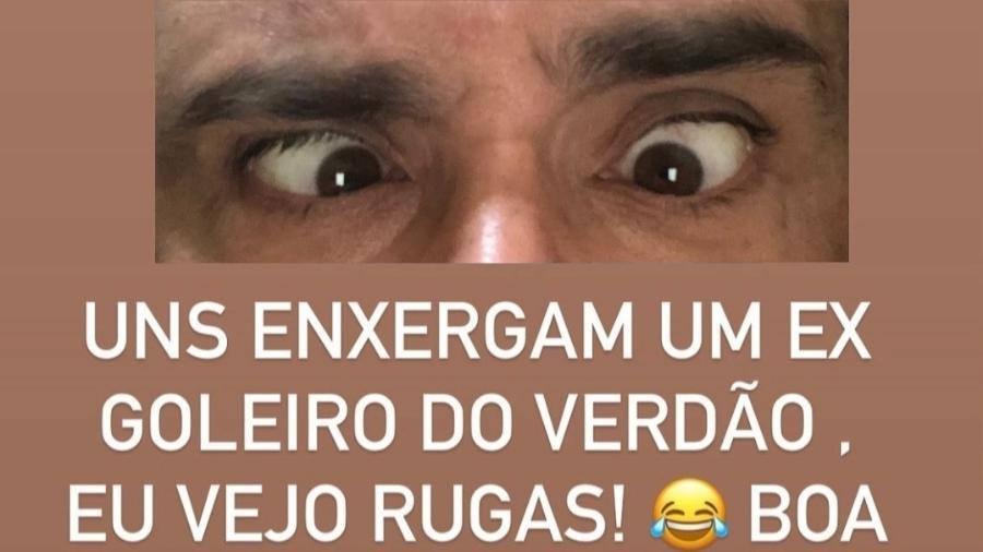 Ex-Palmeiras, Marcos zoa campanha da Adidas - Reprodução/Instagram
