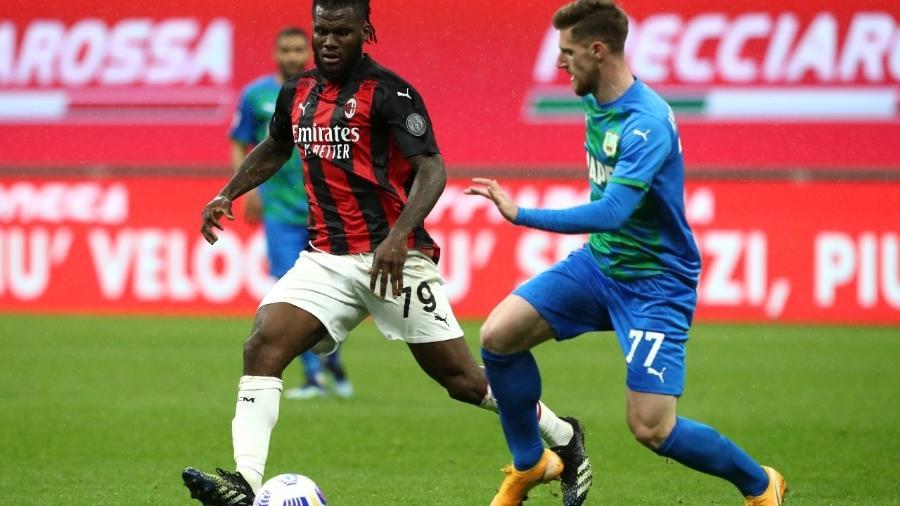 Milan enfrenta o Sassuolo em partida válida pelo Campeonato Italiano - Marco Luzzani/Getty Images