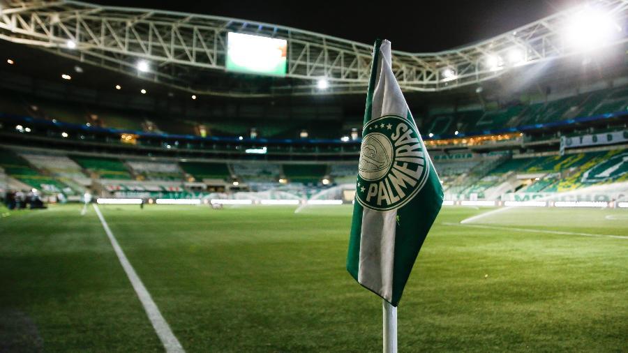 Allianz Parque antes da partida entre Palmeiras e Atlético-MG pela semifinal da Libertadores - VINICIUS NUNES/AGÊNCIA F8/ESTADÃO CONTEÚDO