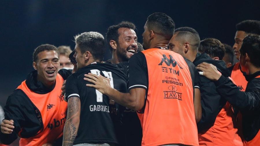 Vasco venceu o Brusque por 1 a 0 e agora chega empolgado para a partida contra o Goiás em São Januário - Rafael Ribeiro / Vasco
