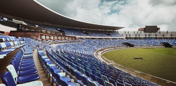 Estádio Serra Dourada, em Goiânia