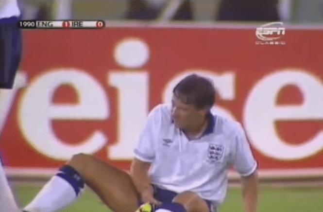 Gary Lineker fez cocô em pleno gramado durante a Copa do Mundo de 1990