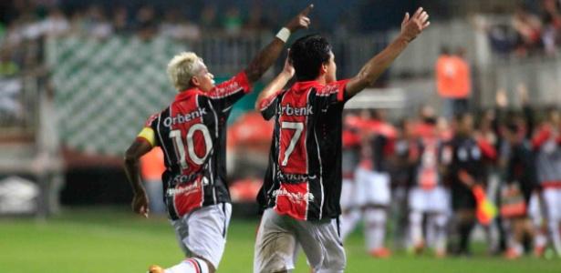 Joinville disputou a primeira divisão do Brasileiro na última temporada