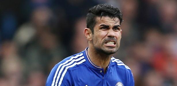 Diego Costa não está feliz no Chelsea e já pediu para deixar o clube