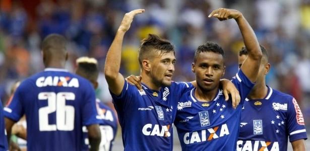 Dupla rendeu boas jogadas e gols do Cruzeiro nos últimos dois jogos