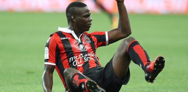 Balotelli já marcou dois gols com a camisa do Nice