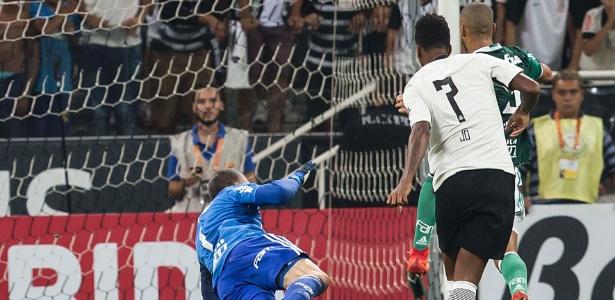 Palmeiras perdeu por 1 a 0 para o Corinthians, em Itaquera