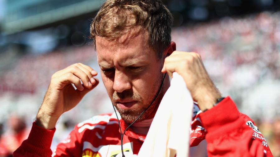 Vettel se prepara para o Grande Prêmio do Japão - Lars Baron/Getty Images