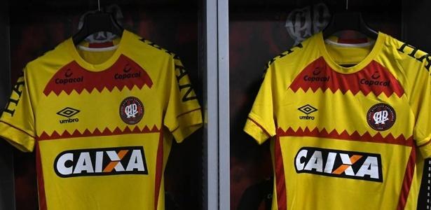 e13881022d084 Atlético-PR opta por usar polêmica camisa amarela um dia antes da eleição