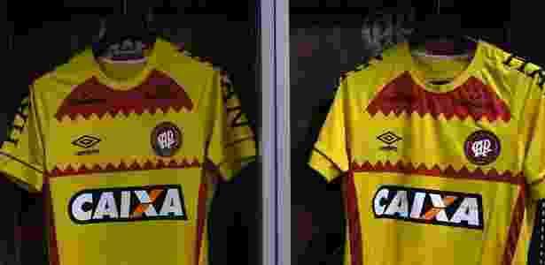 Atlético-PR entrou em campo contra o Botafogo com a camisa amarela - Divulgação/Atlético-PR - Divulgação/Atlético-PR