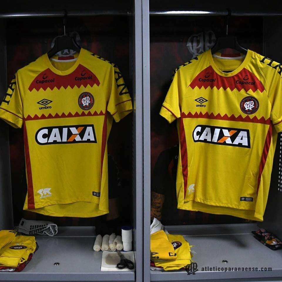 Atlético-PR entrou em campo contra o Botafogo com a camisa amarela