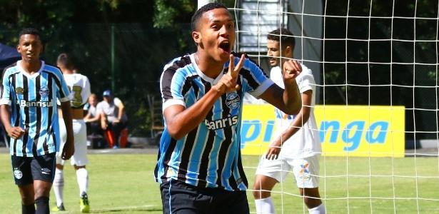Da Silva, centroavante do Grêmio, é assediado por clubes da Europa - Rodrigo Fatturi/Grêmio