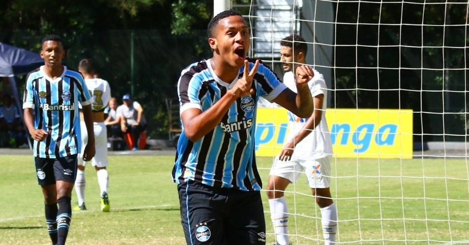 Da Silva, centroavante do Grêmio, é assediado por clubes da Europa