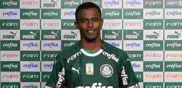 Carlos Eduardo é apresentado como jogador do Palmeiras - Cesar Greco/Ag. Palmeiras