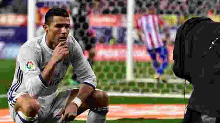 Cristiano Ronaldo Real MAdrid atlético de Madri - Gerard Julien/AFP - Gerard Julien/AFP