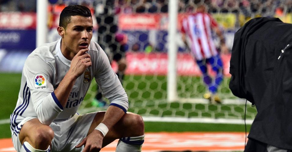 Cristiano Ronaldo Atlético de Madri Vicente Calderón