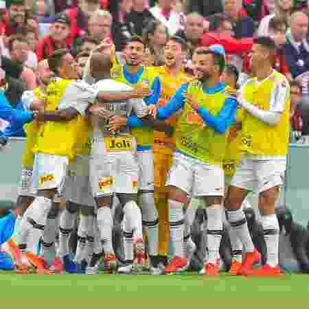 Athletico não separou setor para a torcida do Corinthians no 1º turno - Jason Silva/AGIF