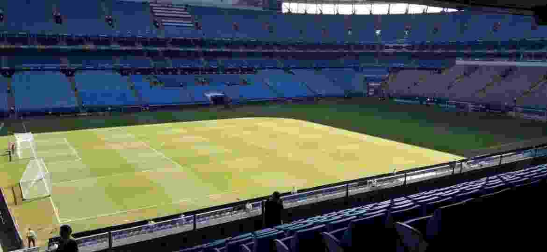 Arena do Grêmio recebe o Gre-Nal deste domingo (03) - Reprodução