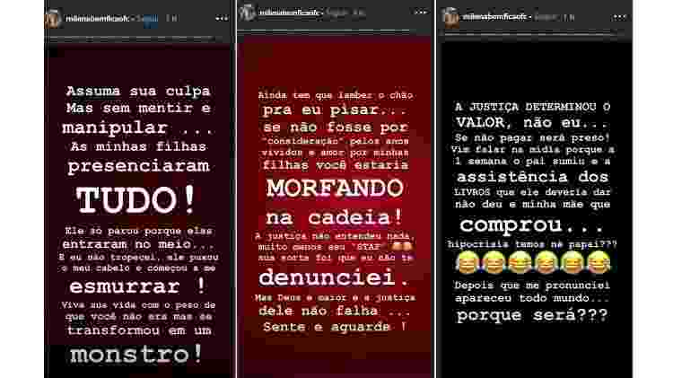 Milena Bemfica desabafa sobre briga com goleiro Jean - Reprodução/Instagram/milenabemficaofc - Reprodução/Instagram/milenabemficaofc