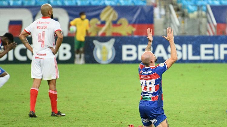 Fortaleza derrotou o Inter por 1 a 0 no Castelão - Kely Pereira/AGIF - Kely Pereira/AGIF