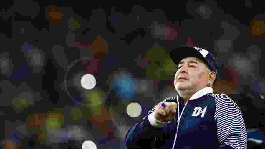 Diego Maradona morreu após sofrer uma parada cardiorrespiratória - Marcos Brindicci/Getty Images