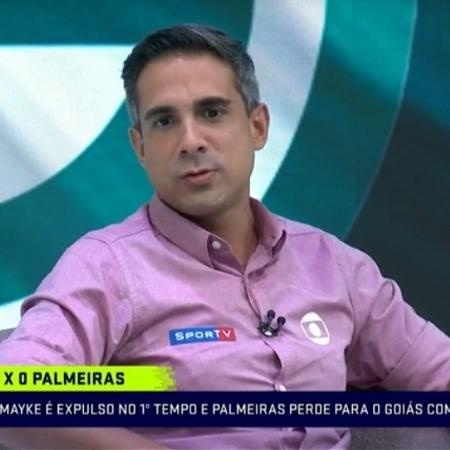 Gustavo Villani é narrador dos canais Globo - Reprodução/SporTV
