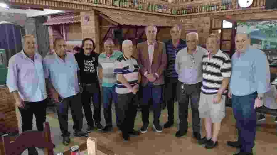 Sérgio Coelho se reuniu com conselheiros antes de inscrever chapa para eleição no Galo - Reprodução