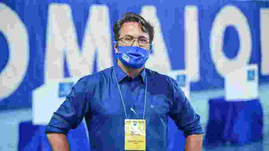 """Giovanni Baroni citou também """"hipocrisia"""" após perder eleição no clube - Igor Sales/Cruzeiro"""