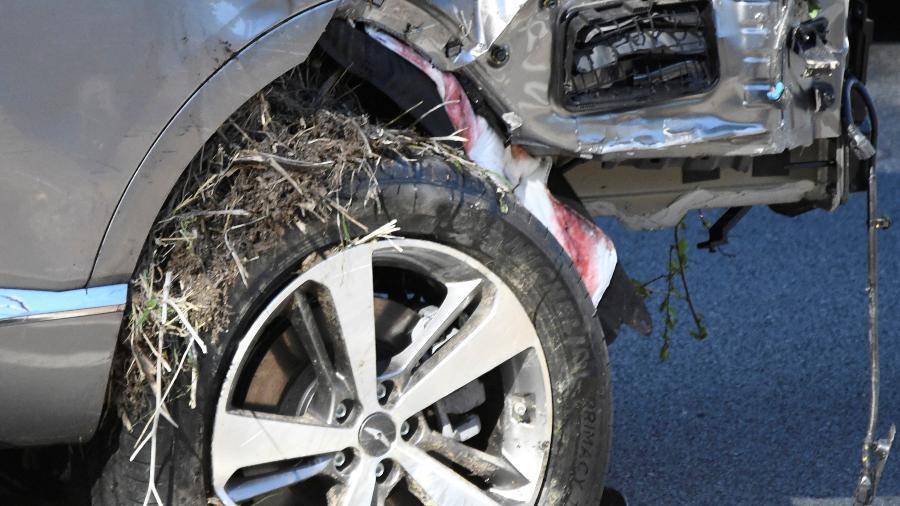 Golfista se recupera de grave acidente automobilístico - GENE BLEVINS/REUTERS