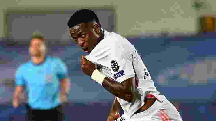Vini Jr brilha contra Liverpool - GABRIEL BOUYS / AFP - GABRIEL BOUYS / AFP