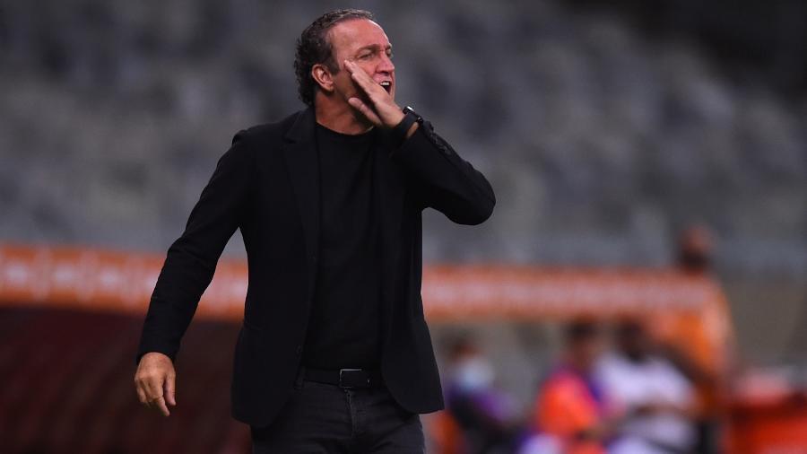Cuca levou o Atlético-MG às semifinais da Libertadores e Copa do Brasil, e vê sua equipe liderar o Brasileirão - Yuri Edmundo - Pool/Getty Images