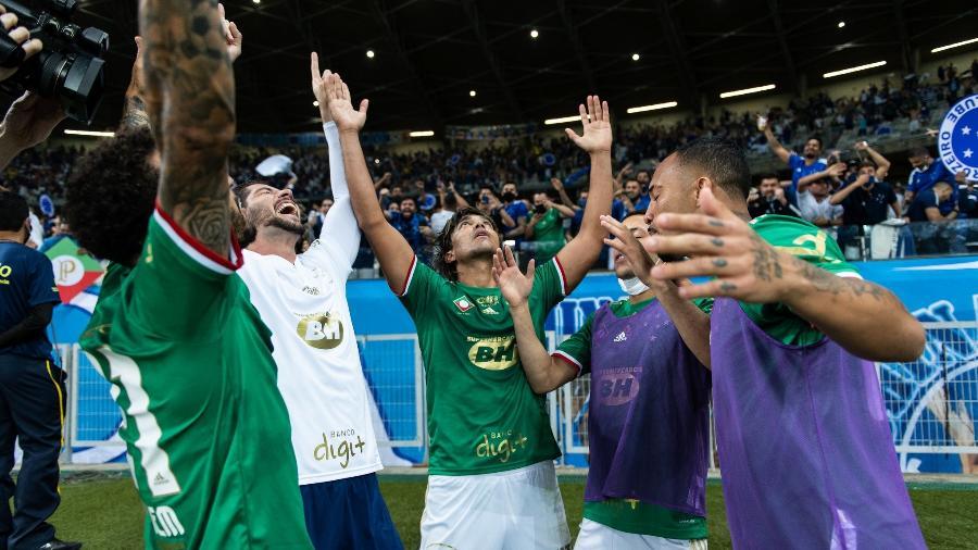 Jogadores da Raposa vivem bom momento e querem ampliar sequência positiva com Vanderlei Luxemburgo - Bruno Haddad/Cruzeiro