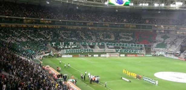 Palmeiras contará com grande apoio da torcida no clássico de quarta-feira