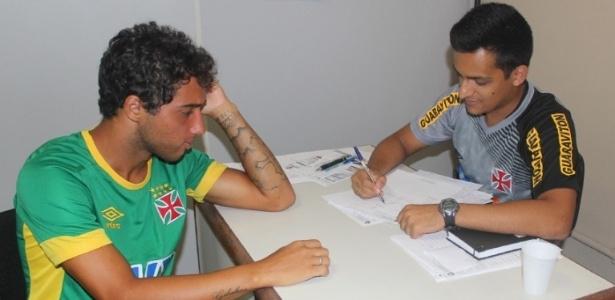 Atacante Hugo Borges recebe avaliação nutricional do PROMOVE