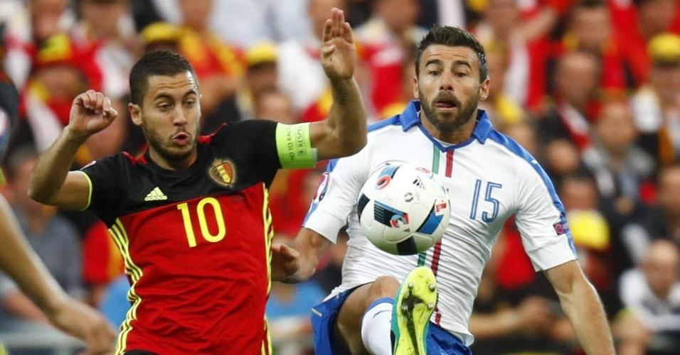 Bélgica e Itália jogam pelo Eurocopa da França